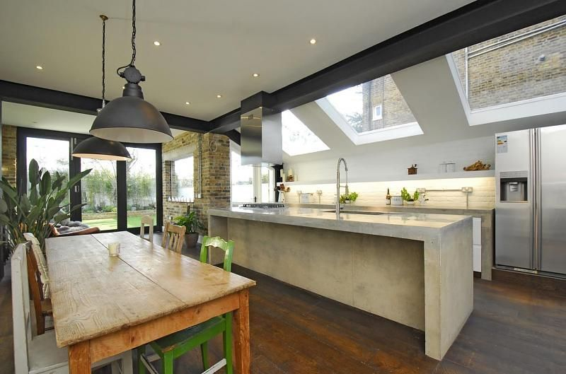 Contemporary London Flat Roof Extension With Crittall Windows Google Search Interiors