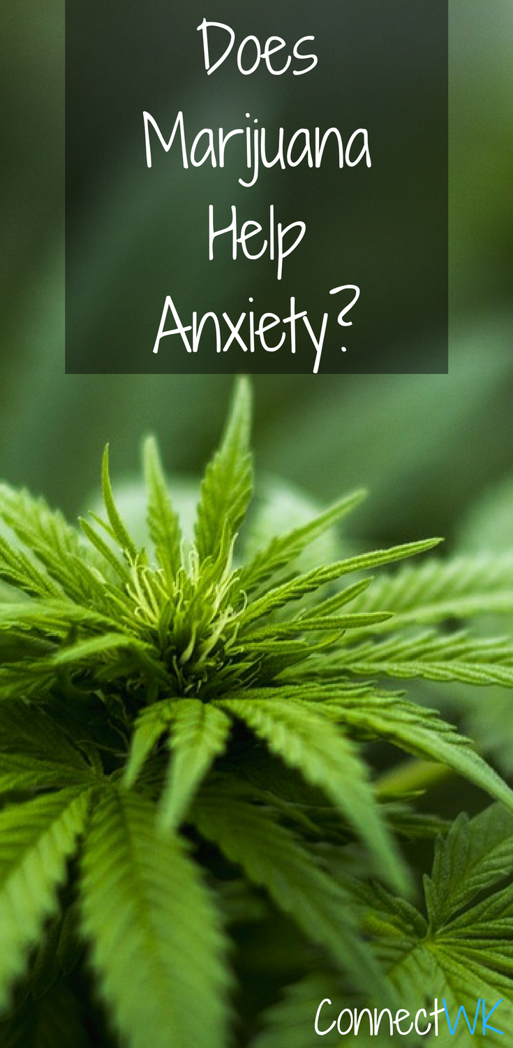 does marijuana help anxiety? is indica or sativa better to treat