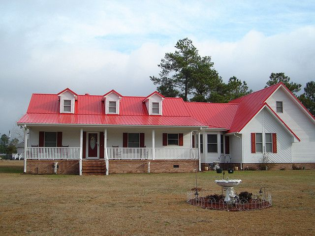 Best Cardinal Red Metal Roof Red Roof House Tin Roof House 400 x 300
