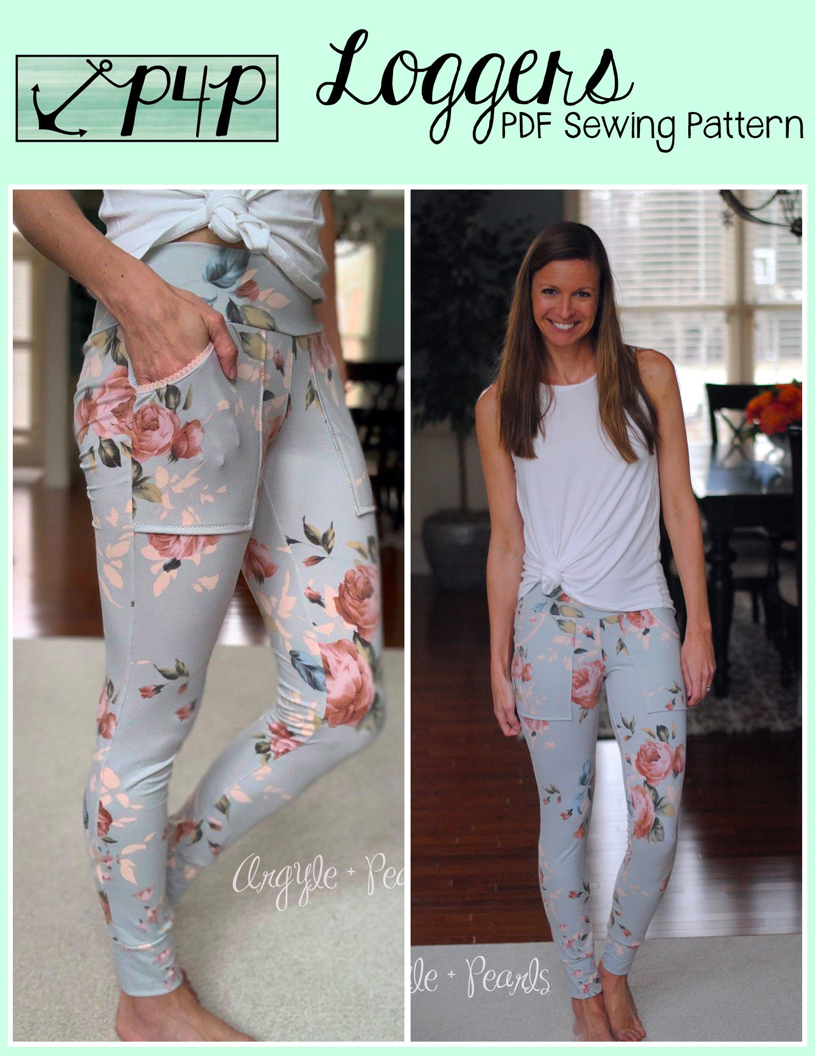 Loggers Fashion Sewing Pattern Pants Sewing Pattern Plus Size