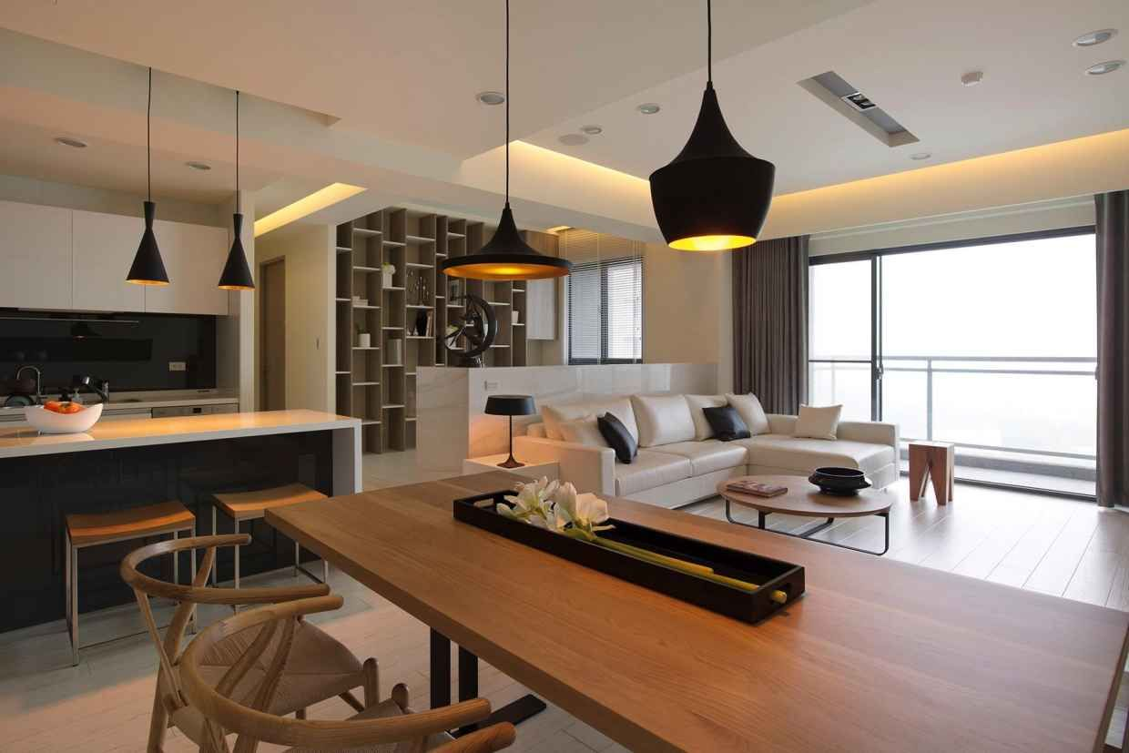 Open plan house with  modern flair also and rh pinterest