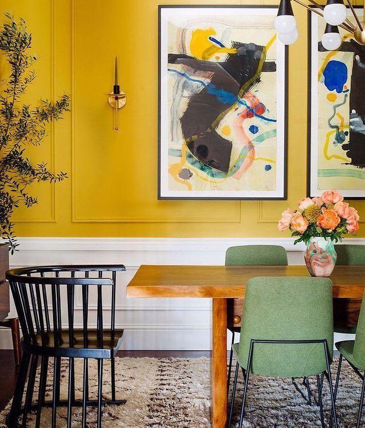 50 Bold And Inventive Dining Rooms With Brick Walls: #interiorsblog #homeblog #homeblogger #inspo #interier