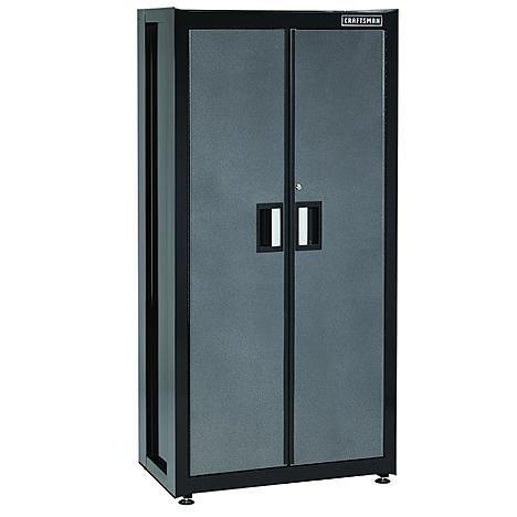 Premium Heavy Duty Floor Cabinet, Craftsman 72 2 Door Tall Floor Cabinet With Shelves