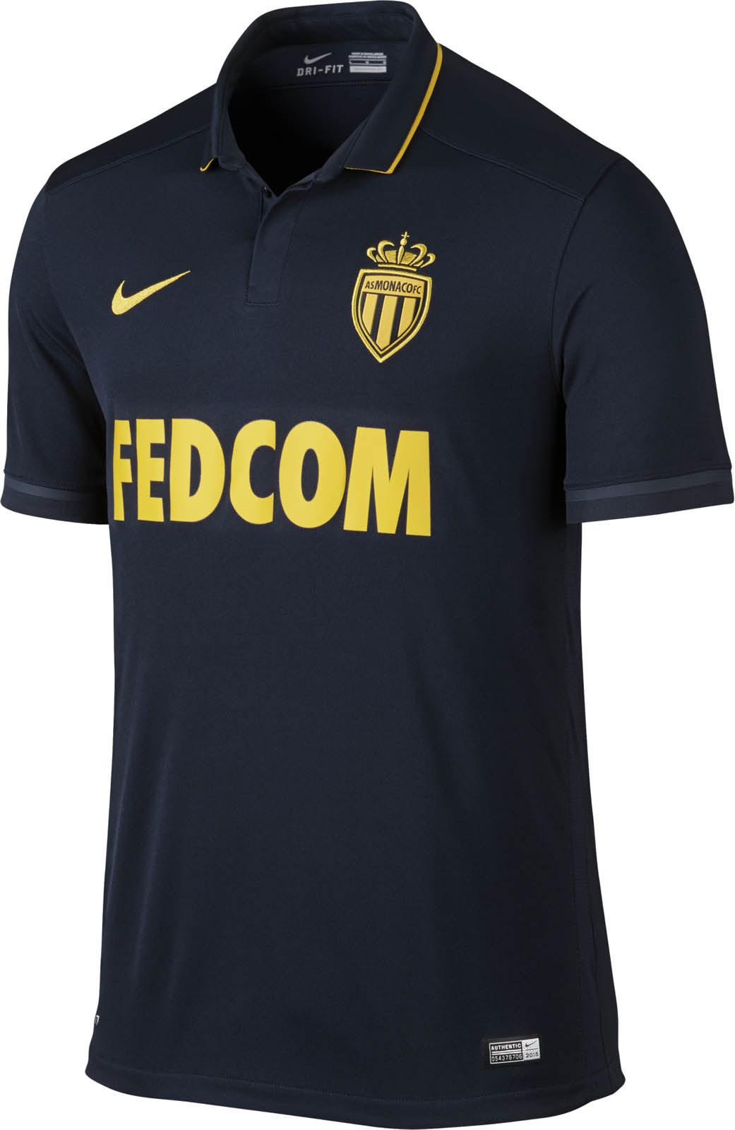 MONACO Camiseta Negra 5f068450bc584