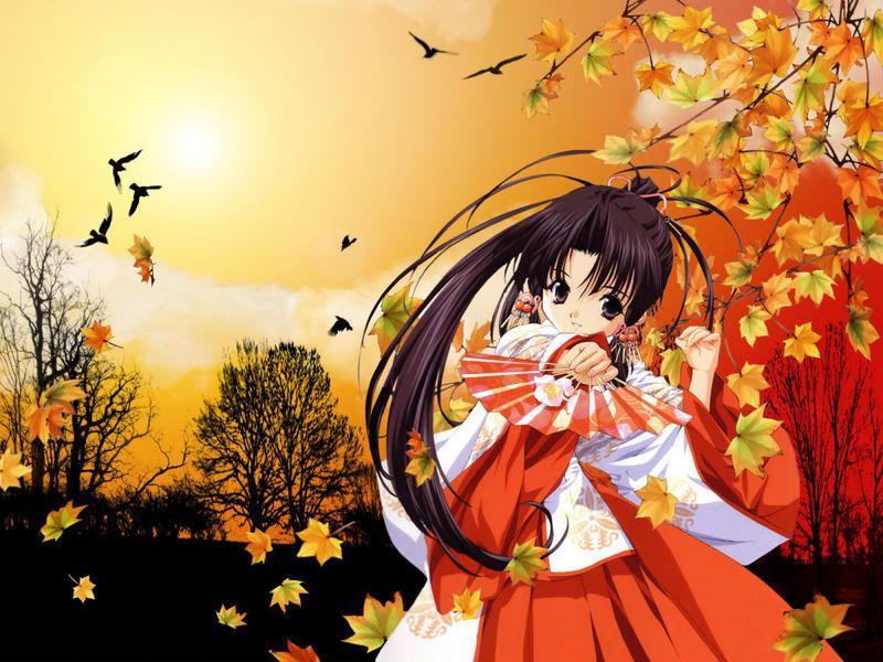 Autumn Anime Awesome Anime Anime Background