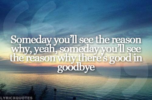 Carrie Underwood - Good In Goodbye