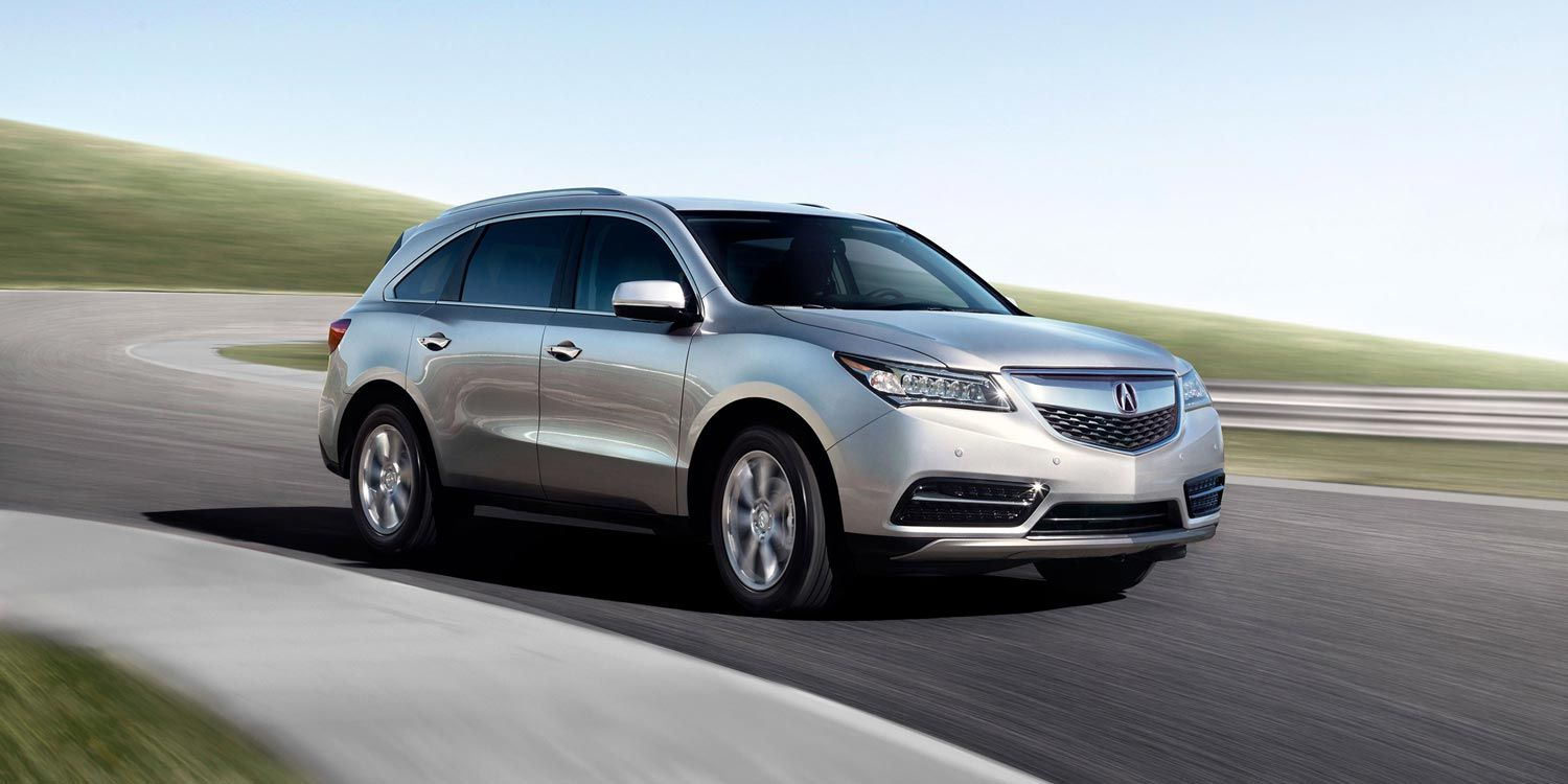 2017 Acura Mdx With Advance And Entertainment Packages Accessories In Silver Moon