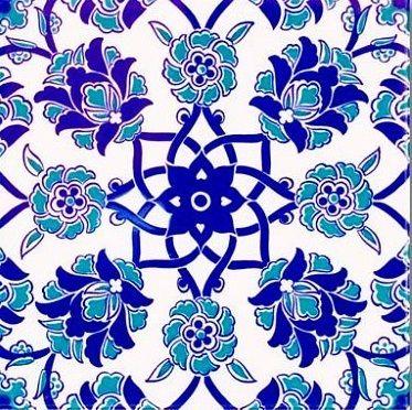 Wall Tiles Turkish Floral Patterns Tile Goruntuler Ile Yer Karolari Desenler Sanat Desen