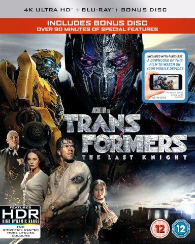 Transformers The Last Knight 4k Ultra Hd Includes Digital Download Last Knights Transformers Knight