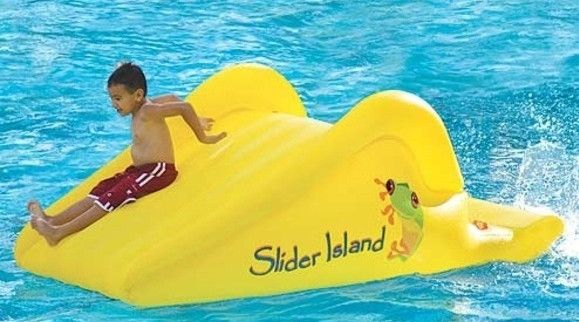 inflatable pool slides for above ground pools