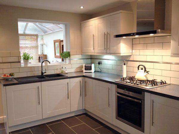 White Kitchen Tiles Liso Brillo White Kitchen Wall Tile