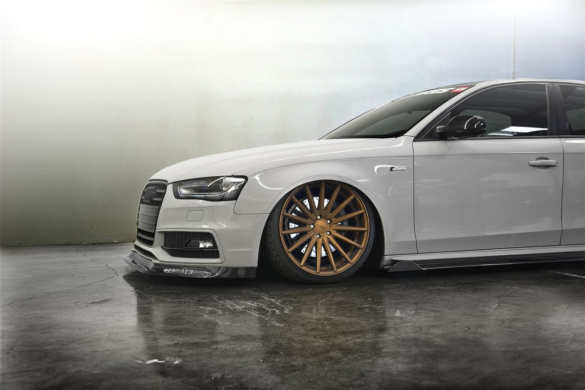 1 305 00 Enlaes Audi B8 B8 5 S4 A4 Side Skirts Carbon Fiber
