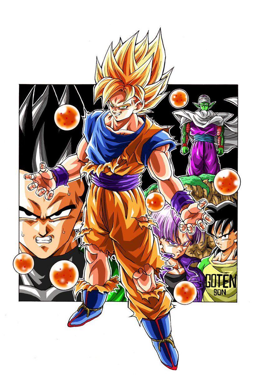 Evil Goku Drawn By Young Jijii Found By Songokukakarot Dragon Ball Super Manga Dragon Ball Art Dragon Ball Z