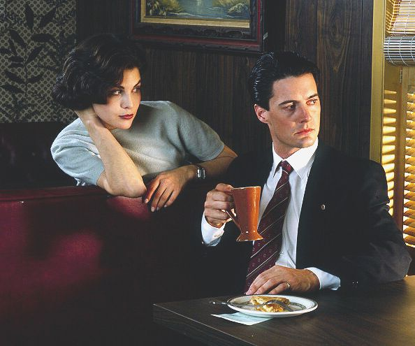 Sherilyn Fenn And Kyle Maclachlan