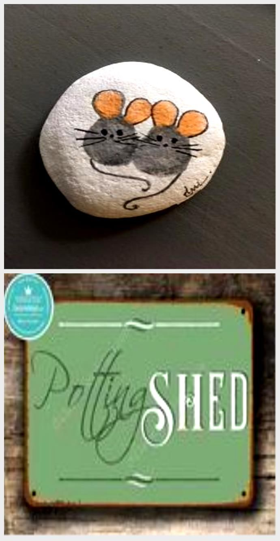 50 Best Painted Rocks Ideen, Waffe, um Ihre langweilige Zeit zu ruinieren - Garden Easy,  #Easy #garden #Ideen #Ihre #langweilige #Painted #Rocks #ruinieren #Waffe #Zeit