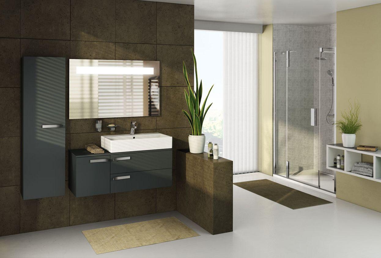 Ideal Standard | Strada:  Purisme in zijn mooiste vorm  Strada verpakt uw badkamer als een geschenk, waardevol en in alle eenvoud. De ruime afmetingen en het dagelijkse gebruikscomfort beloven een unieke beleving. Strada biedt een ruime keuze aan afmetingen voor wastafels en opbouwkommen, en dit aangevuld met een mooie meubellijn in dezelfde geest.