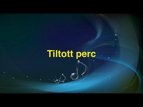 Tiltott perc (Magyar Karaoke) - YouTube #bestkaraokemachine