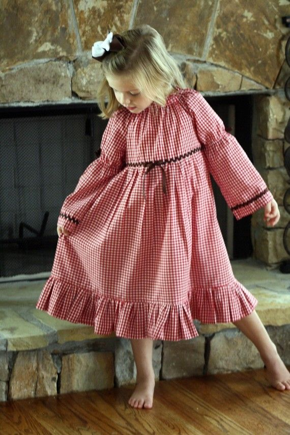 girls nightgown, where can I find this pattern? | sewing projects I ...