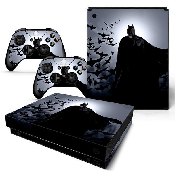 Dc Comics Colony Of Bats Batman Cool Black Xbox One X Skin Xbox One Black Xbox Xbox One Skin