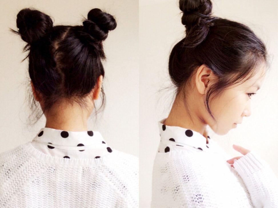 Simpel Tapi Stunning 10 Gaya Rambut Yang Cocok Untuk Ke Sekolah Gaya Rambut Kuncir Kepang Rambut Indah