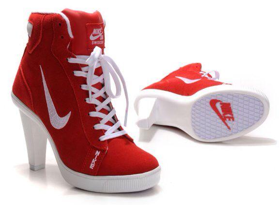 newest 47c92 0488c Nike heals Nike High Heels, Heta Höga Klackar, Christian Louboutin, Skor,  Nike