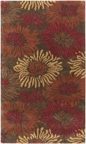 Goa Collection Contemporary Hand Tufted Wool Area Rug