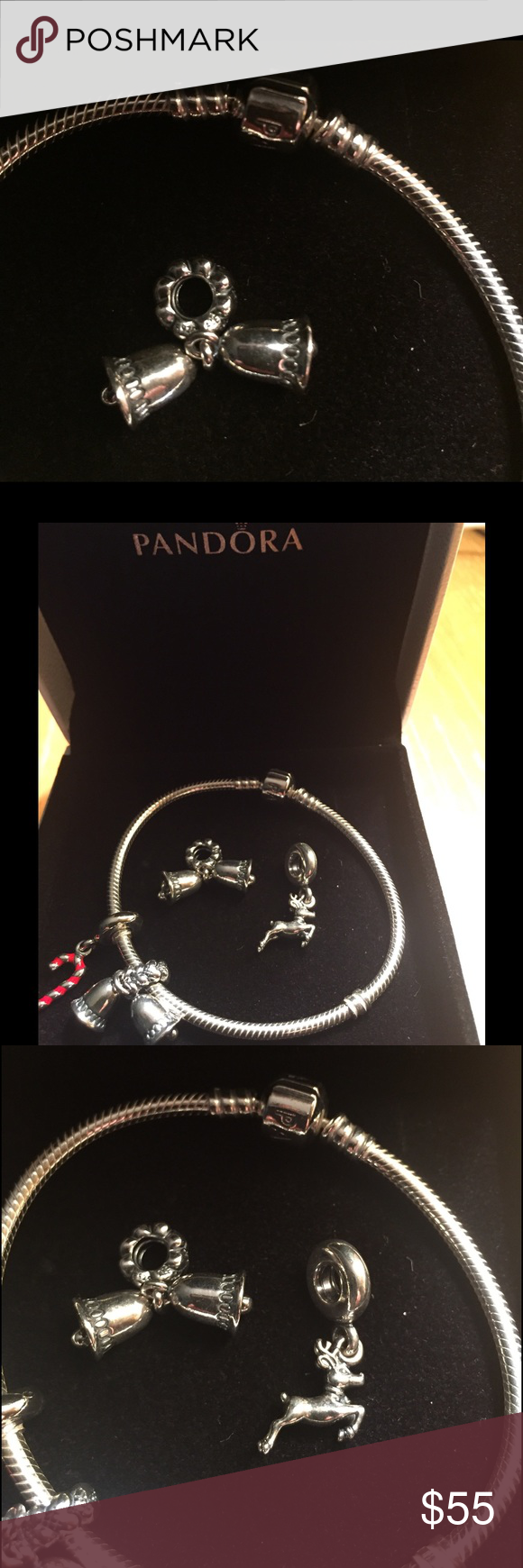 Authentic Pandora Charm Silver authentic Pandora charm. All reasonable offers considered. Pandora Jewelry Bracelets
