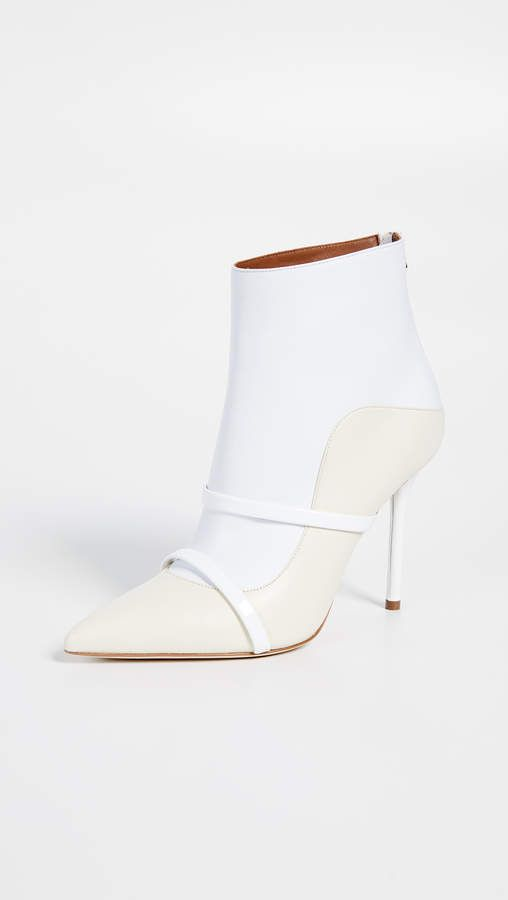 Souliers Boots Malone Heel very High Madison WhiteIvory elegant Booties Ankle 74qa4w
