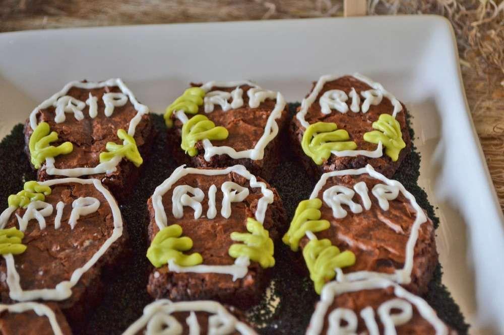 Zombies Birthday Party Ideas Zombie birthday Zombie birthday