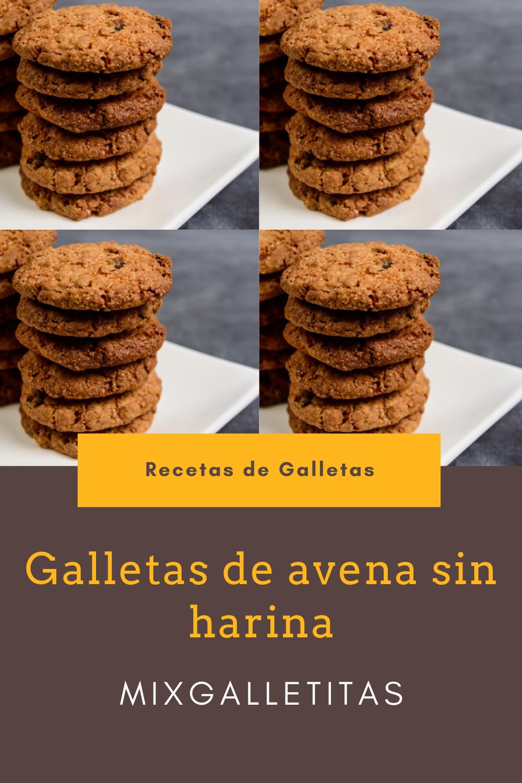 Galletas De Avena Sin Harina Galletitas Galletas De Avena Sin Harina Recetas De Galletitas Dulces Galletas De Avena