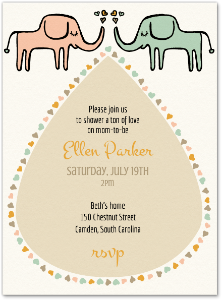 Get FREE Template Free Online Baby Shower Invitations | Baby Shower ...