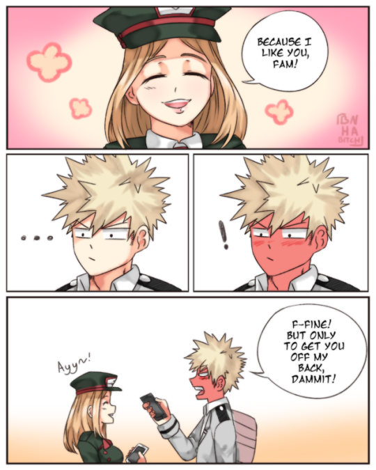 e80800993eefa Lol I find this cute and funny 😂 camie is me tbh My Hero Academia Manga