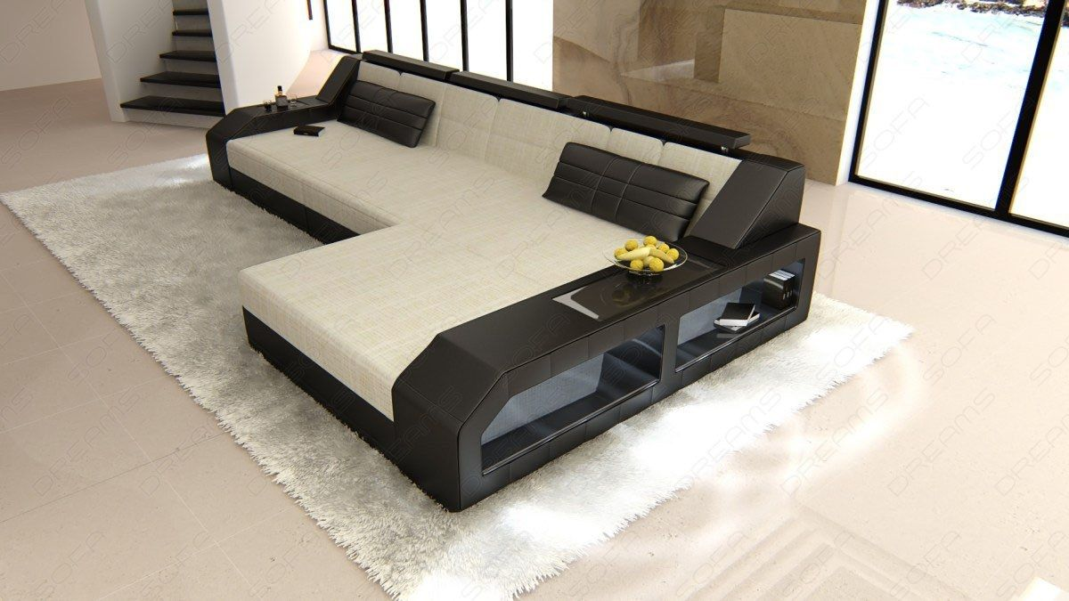 Fabric Luxury Couch Houston L Shape Designer Sofa With Led Lights White Sofa Ideas Of White Sofa Whi Classic Sofa Living Room Luxury Couch Modern Sofa Bed
