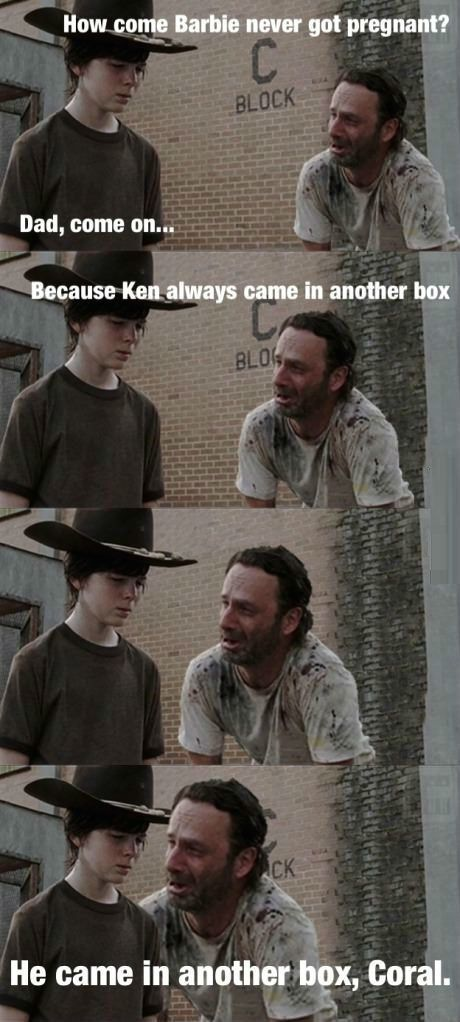 These Rick Grimes Dad Jokes Will Make You LOL. (Photo Gallery)-Please check the website for more