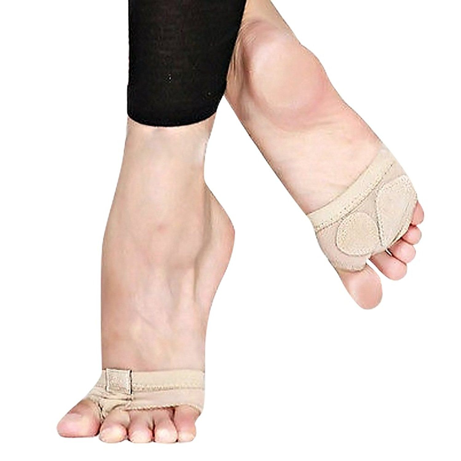 5b57ee444 SPRINGWIND Dance Paws Pad Foot Thongs Toe Undies Half Lyrical Shoes   Learn  more by visiting the image link.