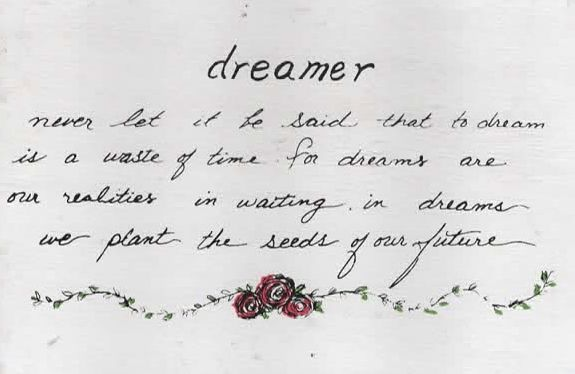Dreamer Wooden Postcard