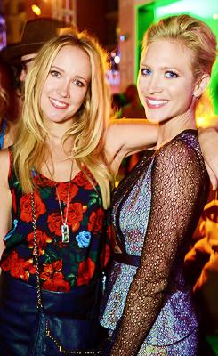 Brittany Snow And Anna Camp Anna Camp & Britta...