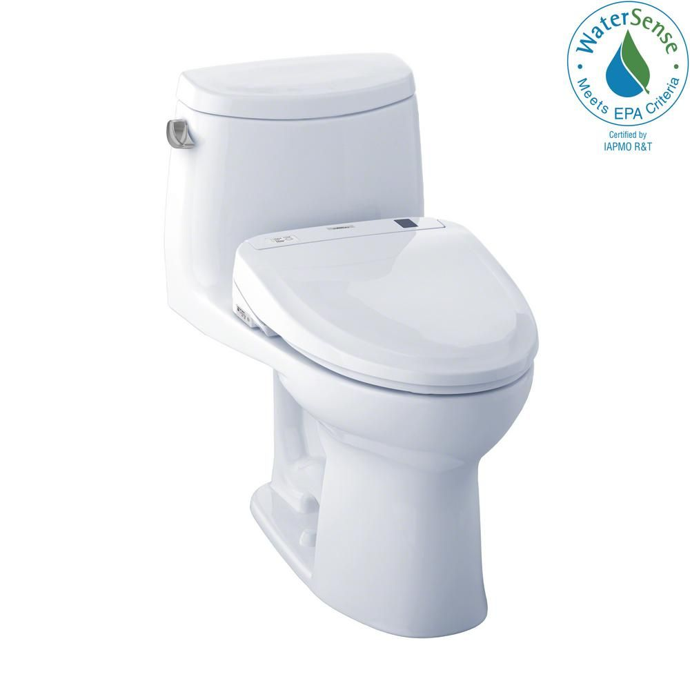 Toto Ultramax Ii Connect 1 Piece 1 28 Gpf Elongated Toilet With