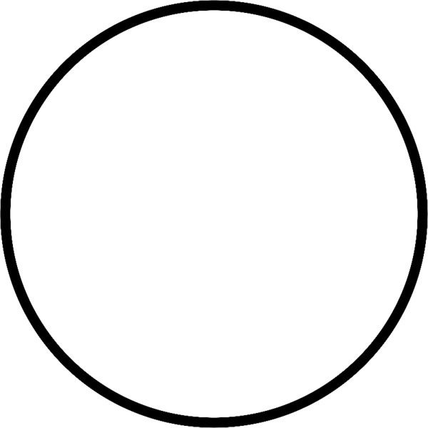 Circle with thick outline liked on Polyvore featuring ...