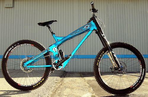 Zerode G2 Side Shot Downhill Bike Bicycle Mountain Bike
