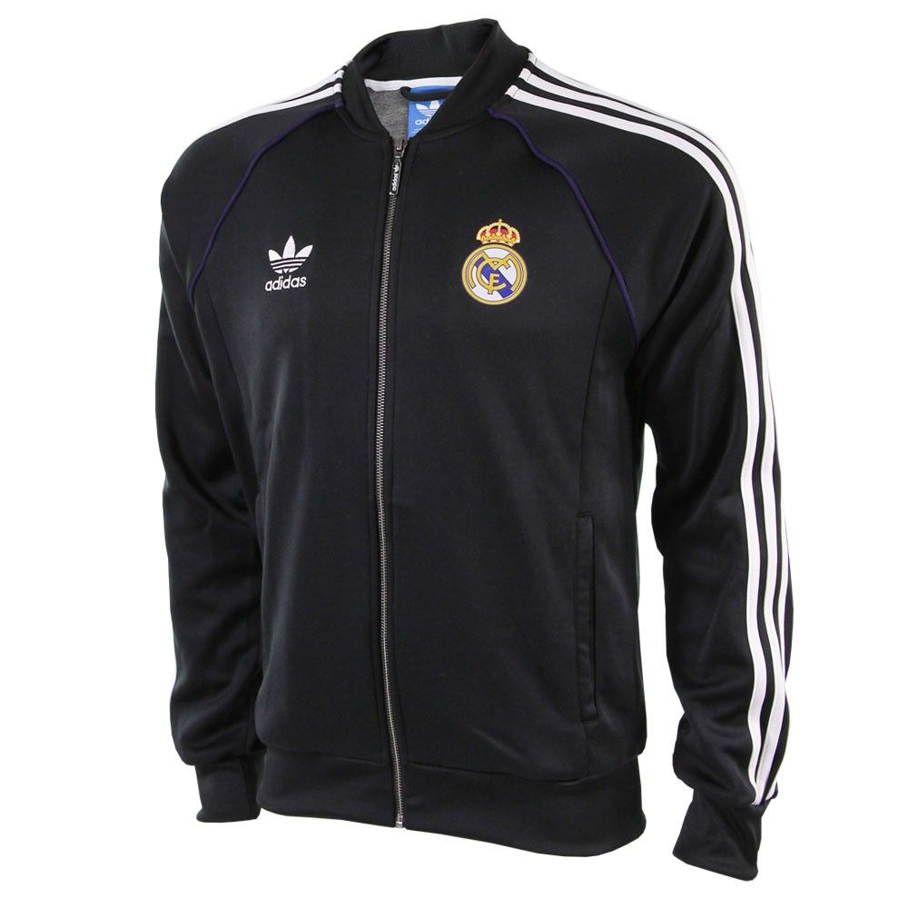 34cbc23a143 adidas originals Real Madrid SST Jack Black | swagger | Adidas ...