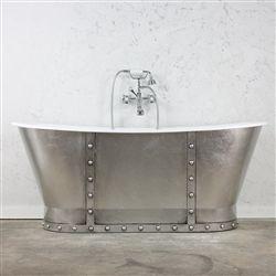 Clawfoot tub and Bateau Cast Iron Clawfoot Bathtub for sale online ...