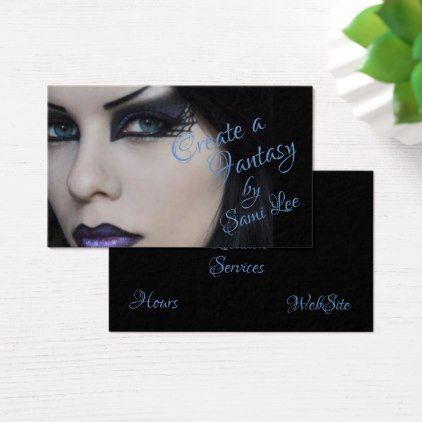 Darkeyed beauty on makeup artists business cards makeup artist darkeyed beauty on makeup artists business cards reheart Choice Image