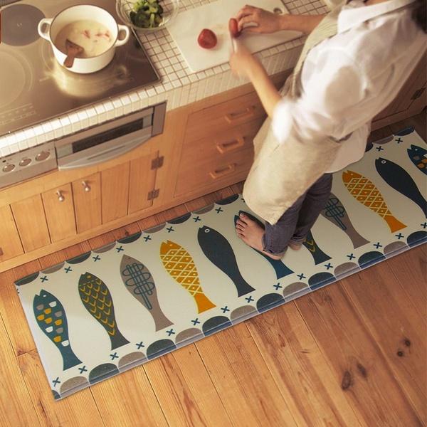 Multicolor rugs Bedroom Kitchen doormat Bathroom toilet feet Mat non- Slip Carpet | Wish