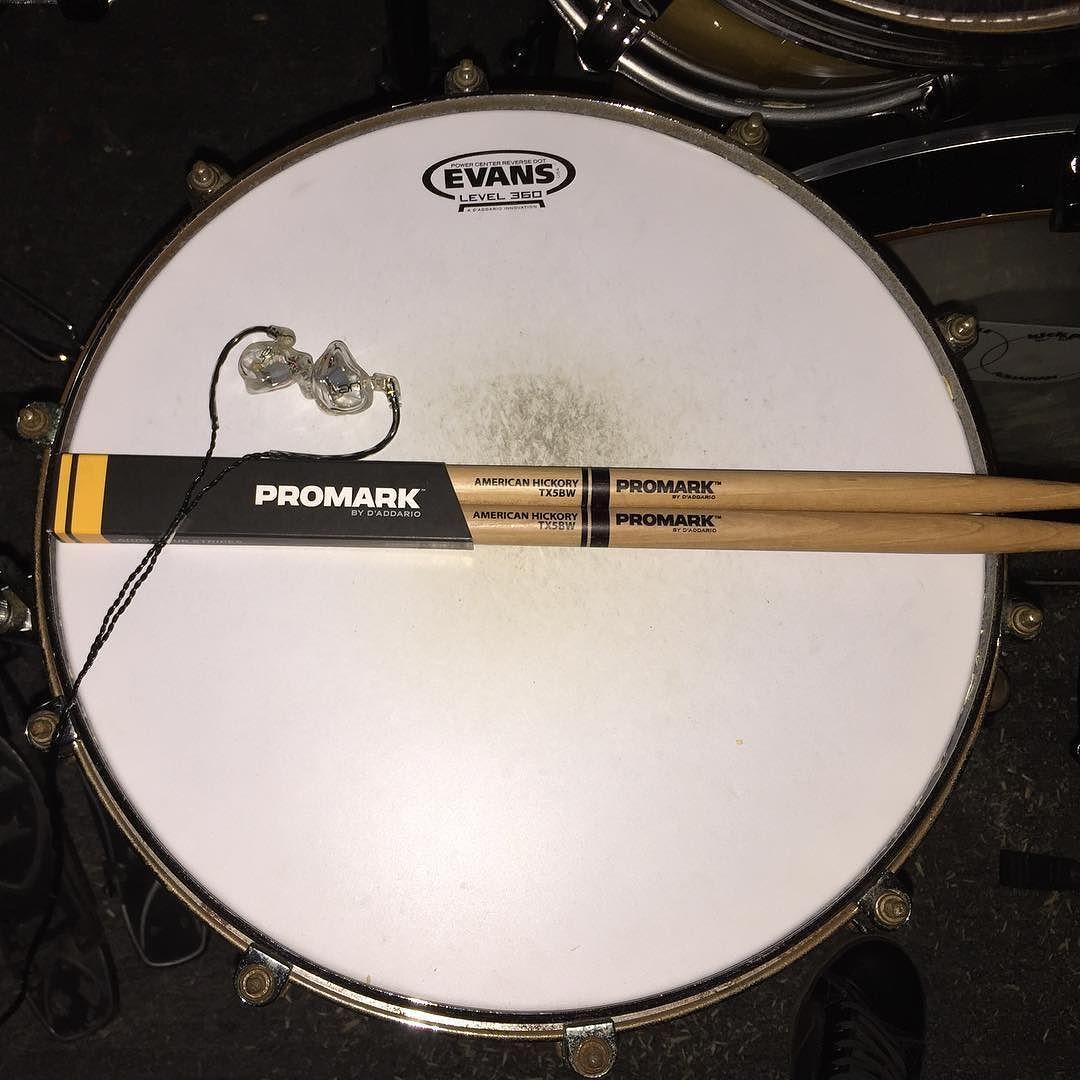"""Bateria Musica Porno drum porn. 14"""" tama starphonic snare. ultimate ears in ear"""