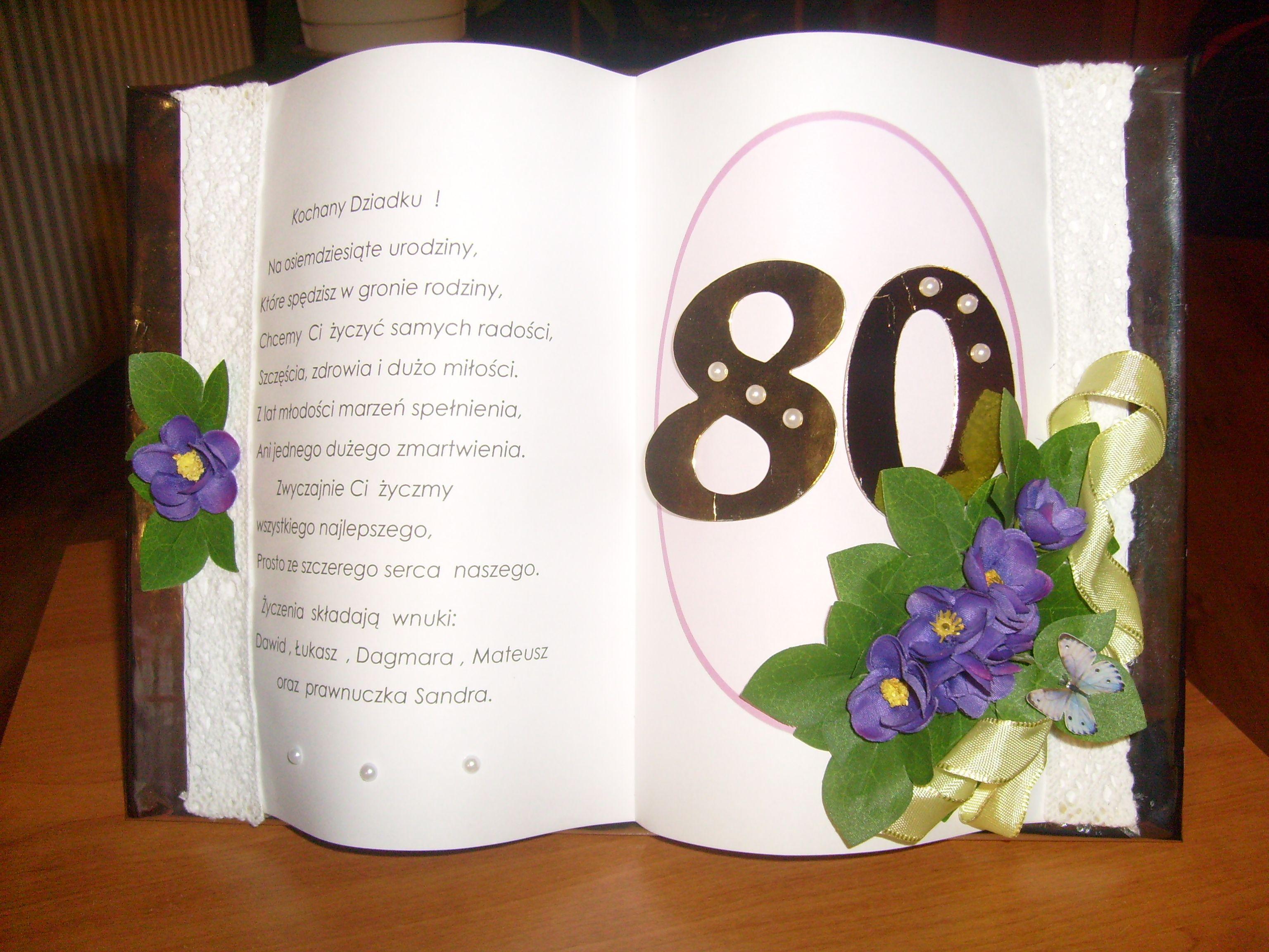 80 Urodziny 80 Urodziny Rocznica Slubu Urodziny