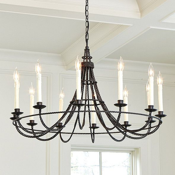 Collins 12 Light Chandelier Ballard Designs Ballard Designs Lighting Chandelier Lighting Chandelier Pendant Lights