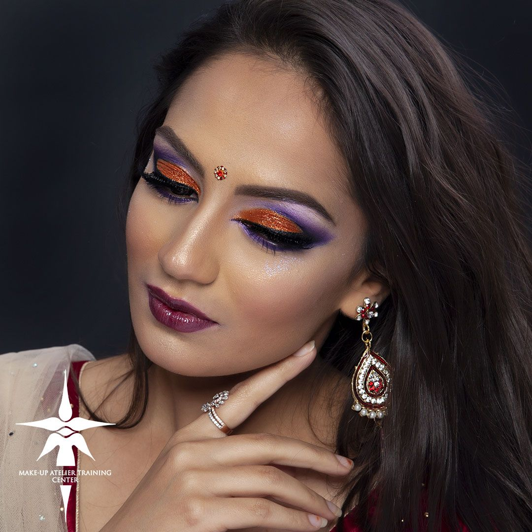 Asian MakeUp from our Student's work from Professional