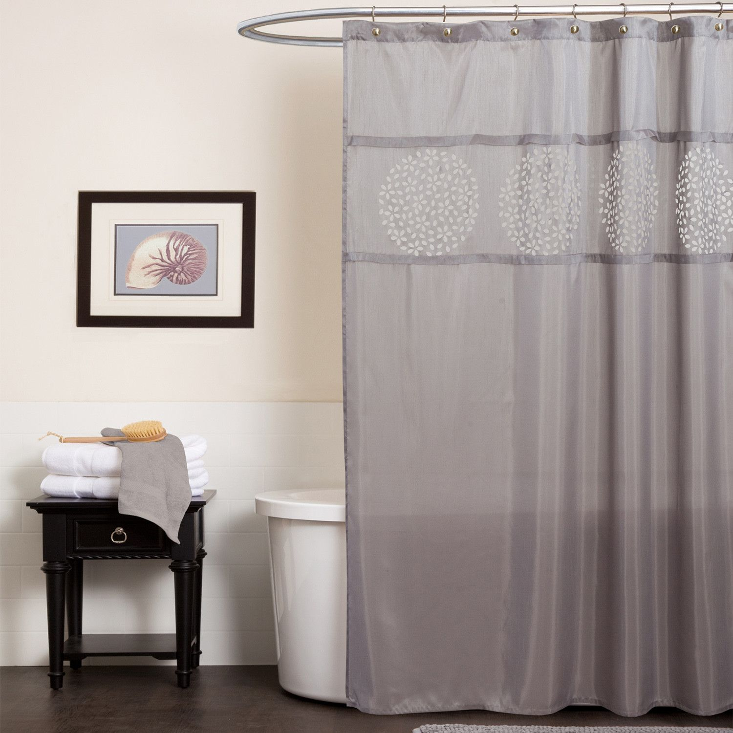Fressia shower curtain bathroom pinterest