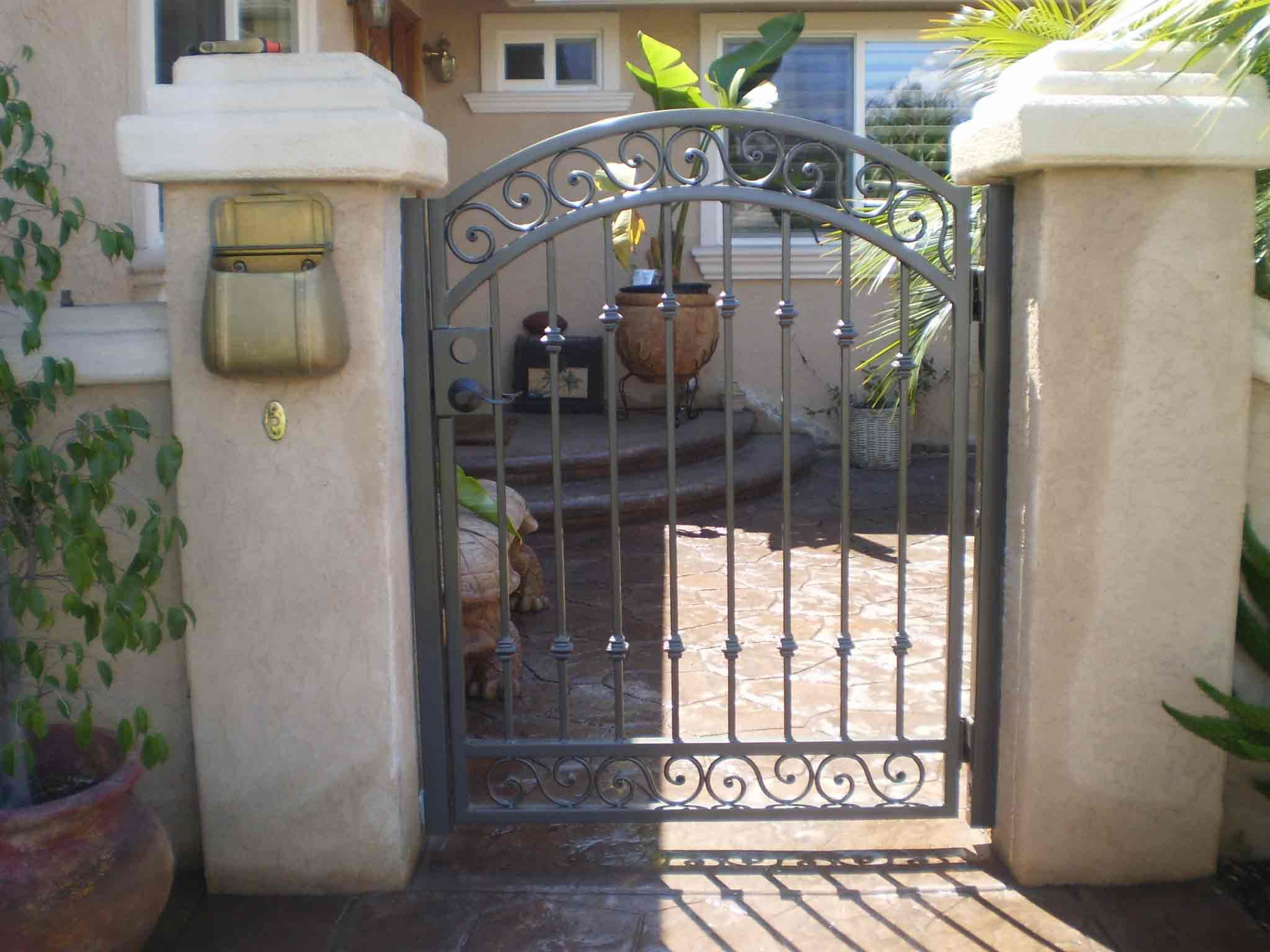 Front yard patio landscaping pictures with wrought iron fencing front yard patio landscaping pictures with wrought iron fencing wrought iron fence gates eventelaan Image collections